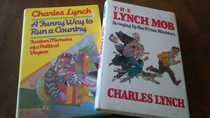 Charles Lynch, 2 Books The Lynch Mob/Funny Way to Run a Country Kitchener / Waterloo Kitchener Area image 1
