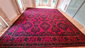 Antique donegal rug
