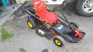 Germany made riding lawnmower go cart