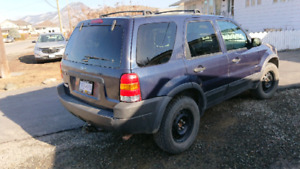 2004 Ford escape XLT with 148.000km