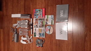 Wii Game System Excellent Condition.