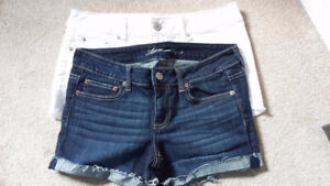 American Eagle Shortie Shorts - 2 pairs, brand new, never worn