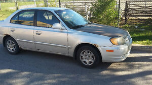 2003 Hyundai Accent Berline
