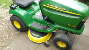 PARTING OUT JOHN DEERE LT155 LAWN TRACTOR
