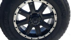 Mags + pneus hiver 265/70r 17