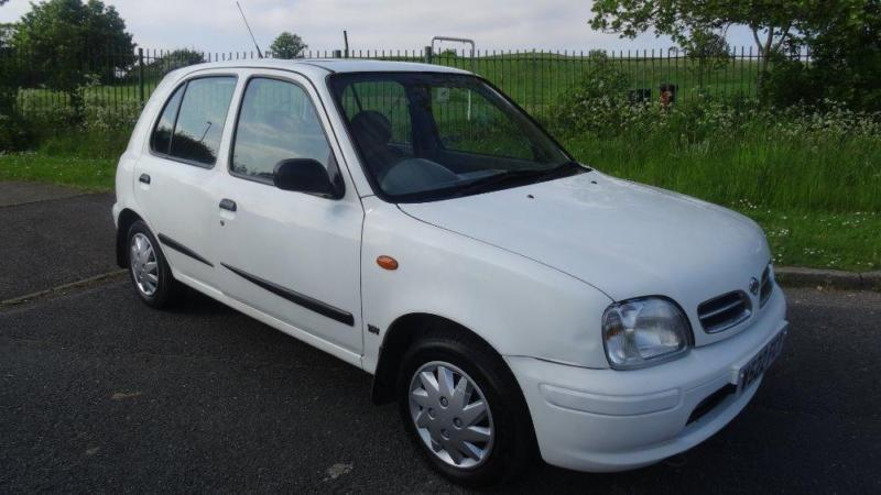 nissan micra gx 16v 12 months mot 2000 manual 68040 petrol white petrol in thornton heath. Black Bedroom Furniture Sets. Home Design Ideas