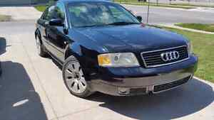 2001 audi A6 4.2 quattro factory wide body