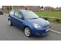 Ford Fiesta 1.4TDCi 2007.25MY Zetec Blue