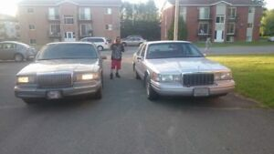 Beau lincoln town car 1991