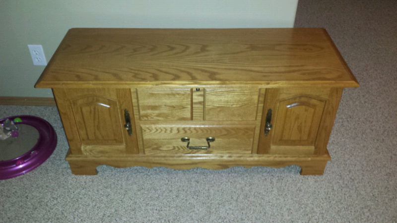 Cedar HUPPE hope chest | Hutches & Display Cabinets | Red ...