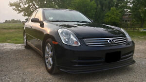 2003 Infiniti G35 Sedan Premium Luxury Trim