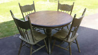 Shabby-chic/Country style table and chairs