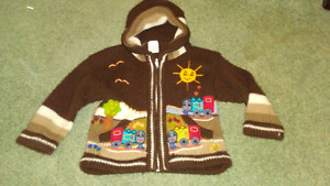 alpaca sweater - 12 months - VERY WARM - almost new