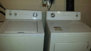 2010 Roper washer /dryer by whirlpool