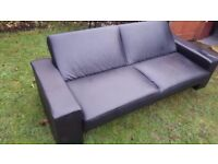 Nice Klick Klack 3 Seater Sofabed/ Settee Can Deliver Locally for £5