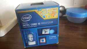 Core i5 4690k with msi z97 Mrotherbored 450$