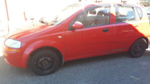 2005 chev aveo manual transmission for sale