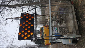 Trailer with construction light Prince George British Columbia image 3