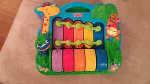 Jouet musical fisher price impeccable