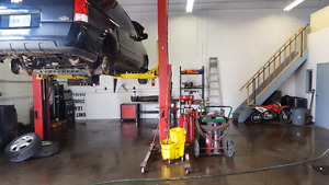 FULLY EQUIPPED AND LICENCED AUTO SHOP