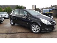 2008 VAUXHALL CORSA DESIGN 5 DOOR 1.4 PETROL,LOW MILEAGE,HALF LEATHER