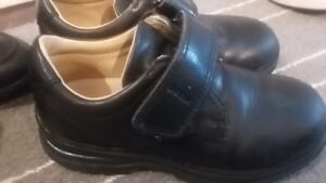 REDUCED! Boys s 11 GEOX Black Leather Dress Shoes. $15/each
