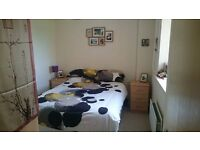 Furnished double room with own bathroom in friendly flat!