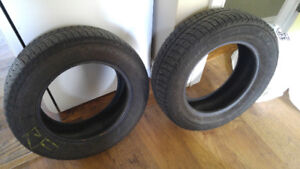 Two Michelin x ice 195 65 15 winter tires