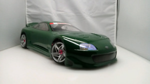 Custom painted HPI Toyota Supra 200mm Body
