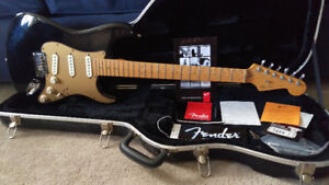 2003 Fender American Deluxe Stratocaster with OHSC+Case candy