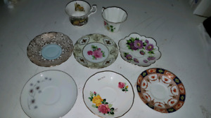 10 Misc pieces of China incl Royal Albert