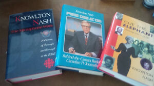 3 Books by Knowlton Nash, CBC, Brand New Condition Kitchener / Waterloo Kitchener Area image 1