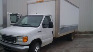2007 Ford E-Series Van Cube Van Other