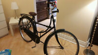 Beautiful imported OLD DUTCH bike with luxury accessories