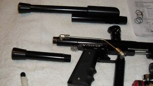 assorted pump paintball markers