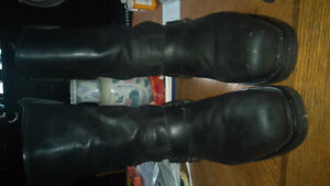 Authentic leather Harley Davidson boots