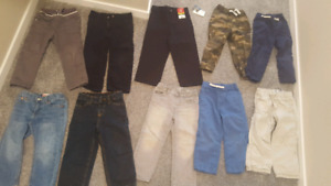 2T-3T boys clothing & size 10 shoes