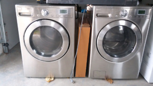 LG Steam Cycle Washer and Dryer
