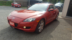 2007 Mazda RX8 CERTIFIED NO ACCIDENTS
