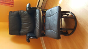 Chair and Foot Rest