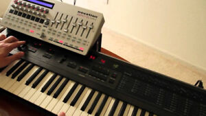 Alpha Juno 2 roland & Programmer, velocity, aftertouch working