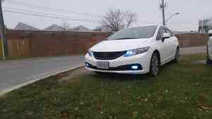 2013 Honda Civic LX with upgrades