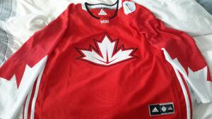 NHL Team Canada Hockey Jersey LNH chandail ... World Cup...XXL