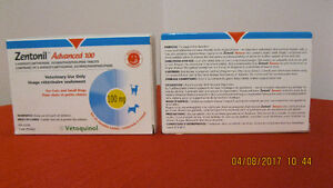 """55 Zentonil """"Advanced 100"""" Tablets For Cats Or Small Dogs."""