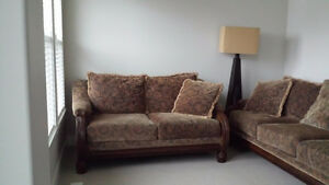 Comfortable Sofa and Love Seat set for sale