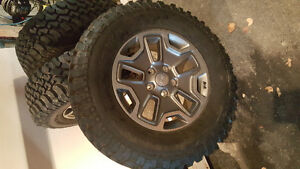 Jeep take off rims and tires