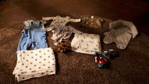 3-6 month boys clothing and accessories for sale!