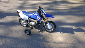 Training wheels for 50cc dirt bike