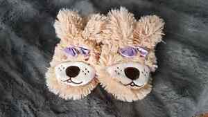 Bunny slippers - toddler size 5-6