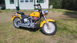 2001 harley davidson fat boy ONLY 17,000Kms